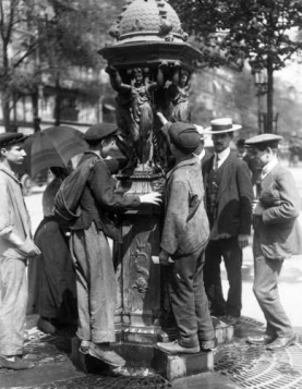 wallace fountain 1911
